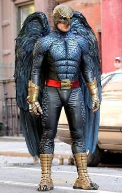 Hawkman ? Non, Birdman !