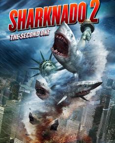 Sharknado 2 : la météo annonce une pluie de requins sur NewYork