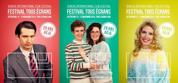 Affiche festival Tous Ecrans