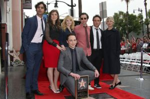 Jim Parson - Walk of Fame (with TBBT team)