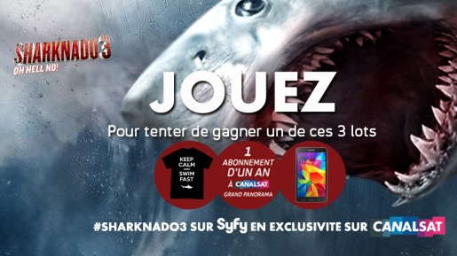Jeu Sharknado 3