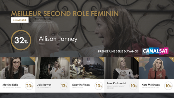 Meilleur Second Role Féminin Comique Light