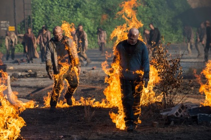 Walkers - The Walking Dead _ Season 5, Episode 1 - Photo Credit: Gene Page/AMC