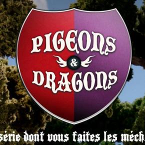 Pigeons & Dragons : Une série d'animation interactive où vous êtes invités à créer lesméchants