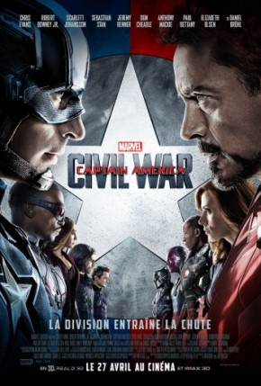 Captain America – Civil War : guerre immature