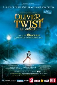 Oliver Twist, le Musical - Affiche (avec logos et resa)