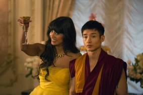 Jameela Jamil & Manny Jacinto - The Good Place - NBC - 2017