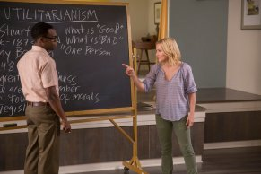 Kristen Bell & William Jackson Harper - The Good Place - NBC - 2017