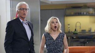 Ted Danson & Kristen Bell - The Good Place - NBC - 2017
