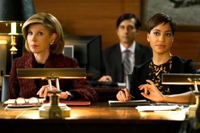 Christine Baranksi & Cush Jumbo - The Good Fight - CBS - 2017
