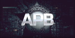 [Pilot] APB : Le futur de la police?