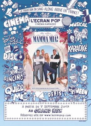 On a testé le karaoké géant de l'Ecran Pop Mamma Mia!