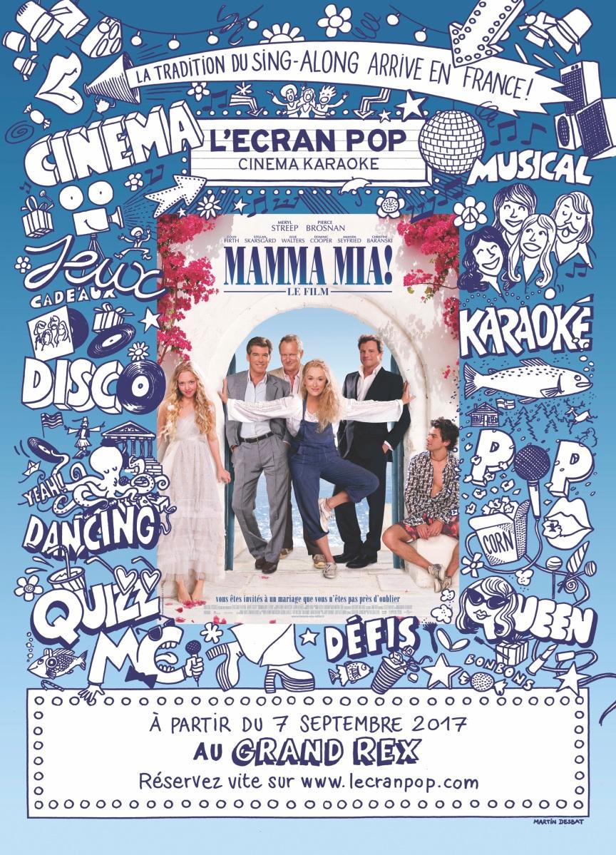 L'Ecran Pop : Vivez une expérience (en)chantante sur Mamma Mia !