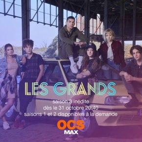 [Interview Vidéo] Les acteurs des Grands vous teasent la saison3